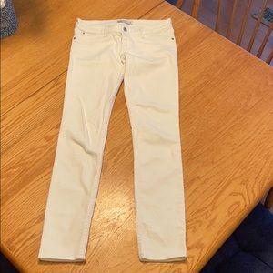 Abercrombie Kids White Jeans size 16